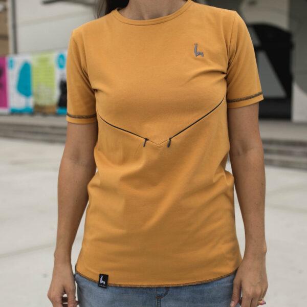 Tričko Basic orange